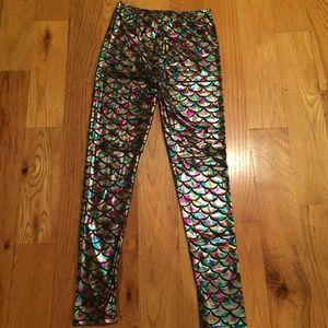 Mermaid fishscale leggings / costume